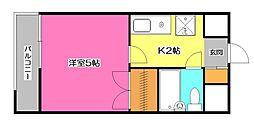 井花屋ビル[3階]の間取り