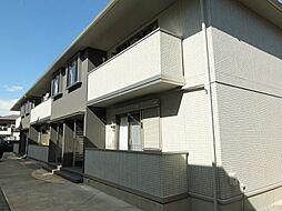 ハイネスA[2階]の外観