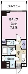 (仮称)向島一丁目計画[5階]の間取り