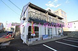 岡山県岡山市中区浜1丁目の賃貸アパートの外観