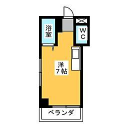 オラシオン人宿II[4階]の間取り