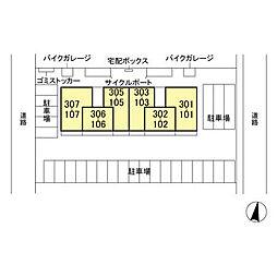 (仮)D-room人見[1階]の外観