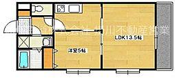 SunRise六番館[1階]の間取り