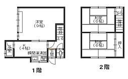 [タウンハウス] 広島県呉市広文化町 の賃貸【/】の間取り
