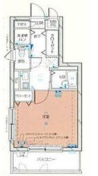 メインステージ池袋本町III[3階号室]の間取り