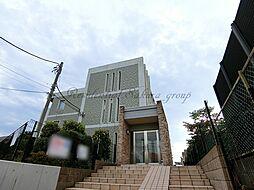 神奈川県藤沢市稲荷1丁目の賃貸マンションの外観