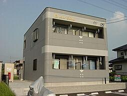愛知県名古屋市守山区吉根3丁目の賃貸アパートの外観