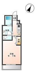 木更津市金田東5丁目新築アパート[206号室]の間取り