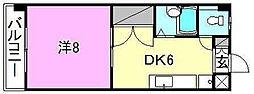 シェレナ辻町[207 号室号室]の間取り