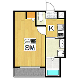 Gladvis kuramaguchi[305号室]の間取り