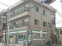 埼玉県川口市西川口6丁目の賃貸マンションの外観