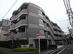 東京都新宿区市谷山伏町の賃貸マンションの外観