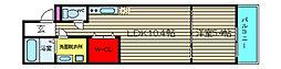 [テラスハウス] 大阪府大阪市住之江区北加賀屋1丁目 の賃貸【/】の間取り