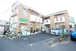 コーポ新田[1階]の外観