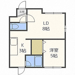 AQUA III[2階]の間取り