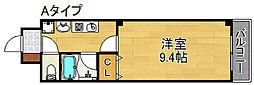 モンタニューロンドI[2階]の間取り