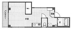 O'アパートメント[2階]の間取り