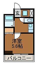 ル・カリエンテ[2階]の間取り