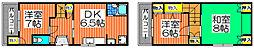 [一戸建] 大阪府高石市羽衣1丁目 の賃貸【大阪府 / 高石市】の間取り