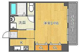小寺ハイツ[2階]の間取り