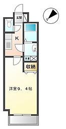 埼玉県春日部市粕壁3丁目の賃貸マンションの間取り