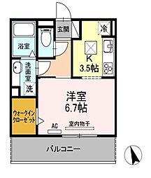 Loco☆MocoⅣ[2階]の間取り