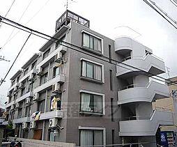 京都府京都市右京区谷口園町の賃貸マンションの外観