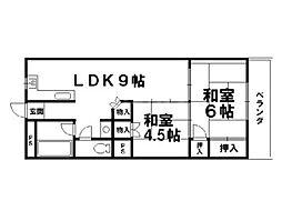 M・リクエスト[3階]の間取り
