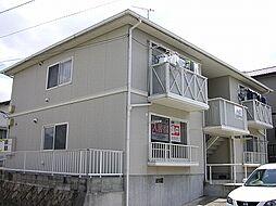 広島県呉市焼山中央4丁目の賃貸アパートの外観