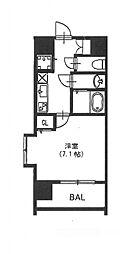 vivi恵美須[11階]の間取り