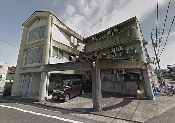滋賀県大津市大萱3丁目の賃貸マンションの外観