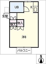MKハイム幸田[1階]の間取り