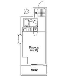 ガーデンプラザ横浜南[813号室]の間取り