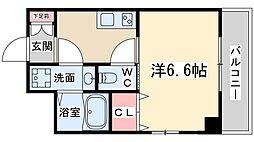 アルディア天神橋[9階]の間取り