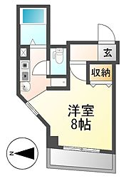 アベニール姫ケ池[2階]の間取り