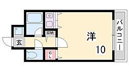 コーラルウェイII[3階]の間取り