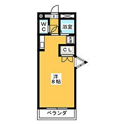 エクセル塩釜3[3階]の間取り
