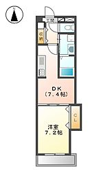 Arsa上飯田[3階]の間取り