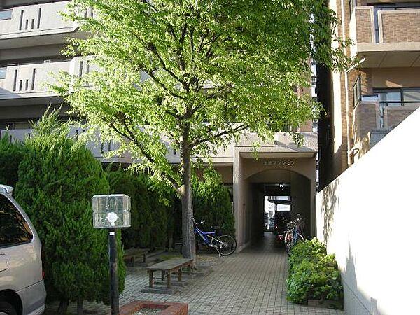 上原マンション[5階]の外観