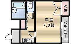 EST1[401号室]の間取り