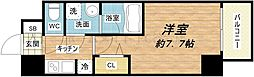 レジュールアッシュ大阪城WEST[8階]の間取り