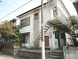 東京都世田谷区奥沢7丁目の賃貸アパートの外観