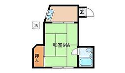 大倉山ハイム[102号室]の間取り