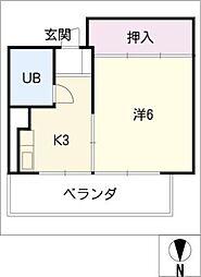 濃尾開発ビル[3階]の間取り