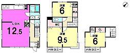 [一戸建] 東京都江戸川区東小岩4丁目 の賃貸【/】の間取り