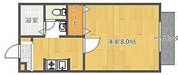 ペルル垂水[1階]の間取り