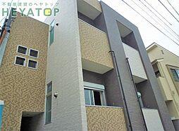 愛知県名古屋市南区外山2の賃貸アパートの外観