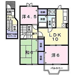 フラワ−コ−ポ I[0202号室]の間取り