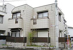 東京都新宿区中井2丁目の賃貸アパートの外観