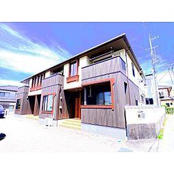 長野県長野市松代町松代の賃貸アパートの外観